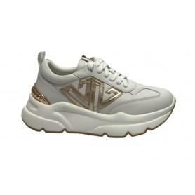 Scarpe uomo Harris sneaker pelle stampa cocco grigio tamponato/ pit roccia/ shade rosso U17HA112