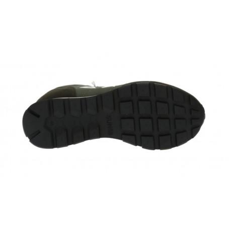 Borsa a tracolla Gold&gold pochette con pattina in tessuto nero donna B20GG07