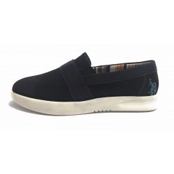 SCARPE UOMO US POLO MOD  RONALD  SLIPON  SUEDE BLU   US17UP01