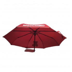 Ombrello  Moschino retraibile open / close Gift Bear red O20MO22