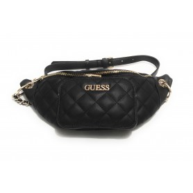 Borsa Guess marsupio Illy crossbody belt bag trapuntata nero BS21GU22 VG797080