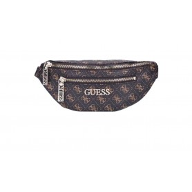Marsupio Guess mod. Manhattan belt bag ecopelle brown donna BS21GU37 QL699480
