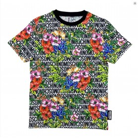 T shirt unisex Moschino Underwear stampa floreale multicolor ES21MO13 A1910