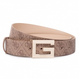 Cinta donna Guess Brightside 4G logo ecopelle brown CS21GU13 BW7417VIN35