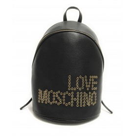 Borsa donna Love Moschino zaino in ecopelle nero BS21MO85 JC4226