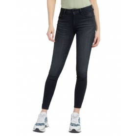 Jeans donna Guess Annette skinny fit push up nero lavato ES21GU97 W1RA99D4AQ1