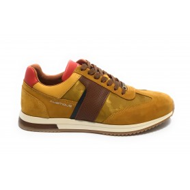 Scarpa uomo Ambitious 11319 sneaker running colore yellow US21AM15