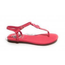 Scarpe donna sandalo Gaëlle in ecopelle fuxia DS21GE05 GBDS2313