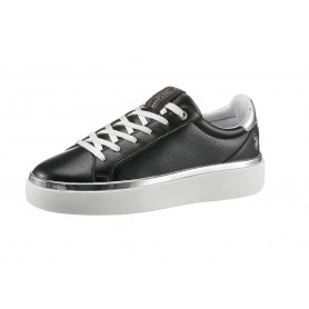 Scarpe donna US Polo sneaker Lucy 103 in ecopelle black DS21UP06