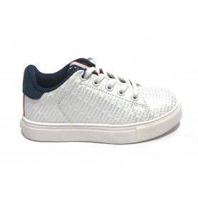 Scarpe bambino US Polo sneaker Willy 169 club white ZS21UP02