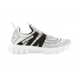 Scarpe donna Armani Exchange sneaker tessuto op white/ grey/ black DS21AX07 XDX060