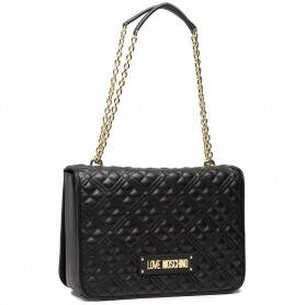 Borsa donna Love Moschino tracolla in ecopelle trapuntata nero BS21MO129 JC4201