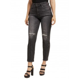 Jeans donna Guess relaxed fit denim pant ambrasions E22GU26 W1YA21D4EO1